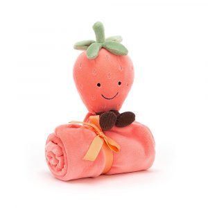 Amuseable Strawberry Soother - 34 cm
