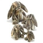 Bashful Cottontail Bunny Small - 18 cm