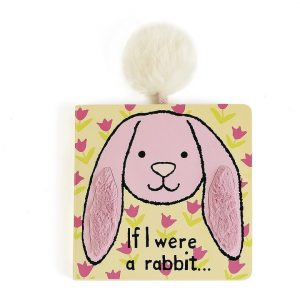 If I were a Rabbit Board Book (Pink) - 15 cm