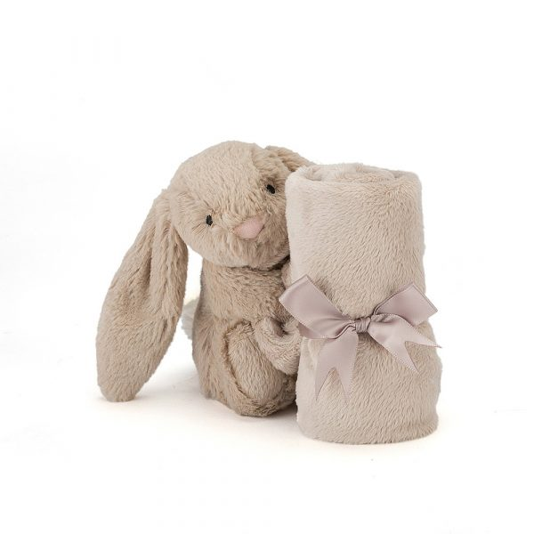 Bashful Beige Bunny Soother - 34 cm