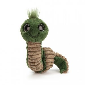 Wiggly Worm Green - 16 cm