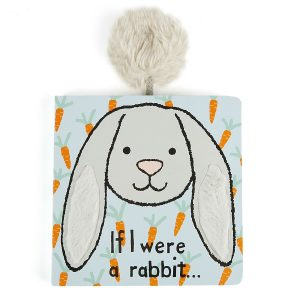 If I were a Rabbit Board Book (Silver)