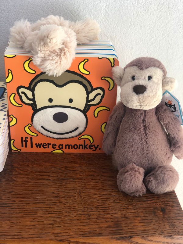 If I were a Monkey Book and Soft Toy